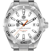 US Naval Academy Men's TAG Heuer Steel Aquaracer