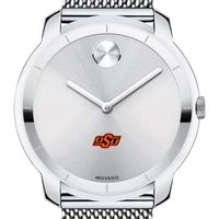 Oklahoma State University Men's Movado Stainless Bold 44