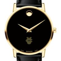 UC Irvine Men's Movado Gold Museum Classic Leather