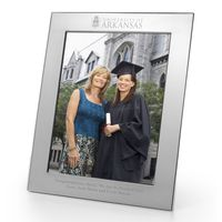 University of Arkansas Polished Pewter 8x10 Picture Frame