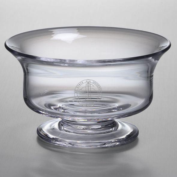 NC State Simon Pearce Glass Revere Bowl Med