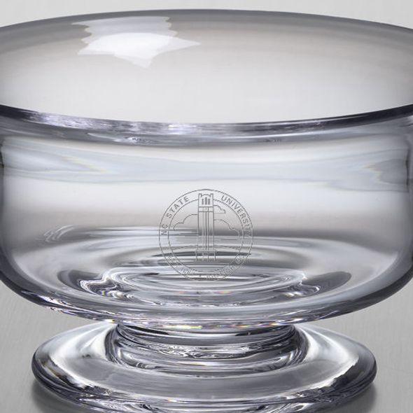 NC State Simon Pearce Glass Revere Bowl Med - Image 2
