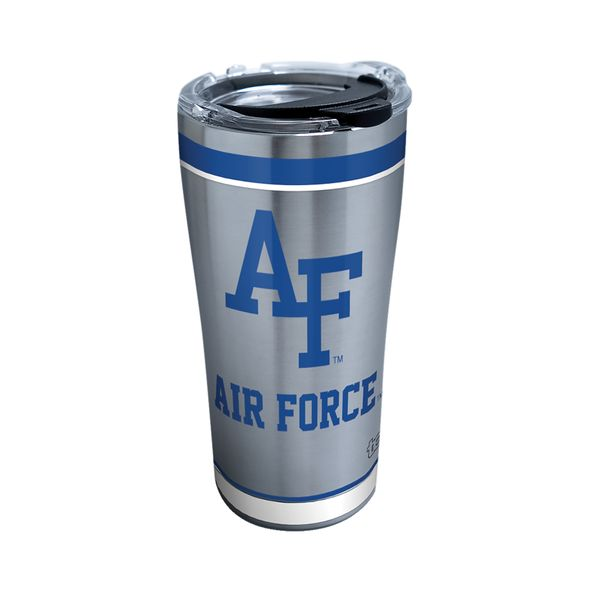 USAFA 20 oz. Stainless Steel Tervis Tumblers with Hammer Lids - Set of 2 - Image 1