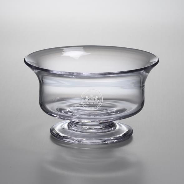 Penn State Medium Glass Revere Bowl by Simon Pearce