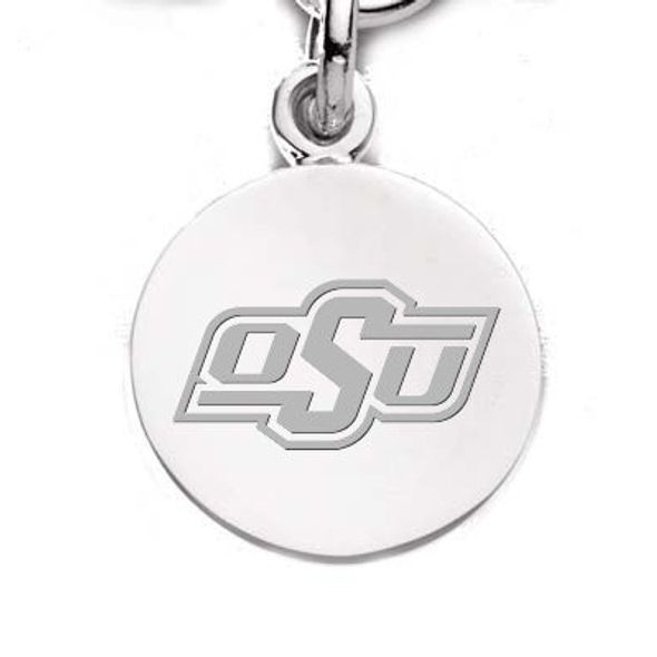 Oklahoma State University Sterling Silver Charm