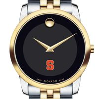 Syracuse University Men's Movado Two-Tone Museum Classic Bracelet