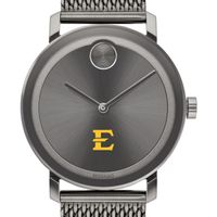 East Tennessee State University Men's Movado BOLD Gunmetal Grey with Mesh Bracelet
