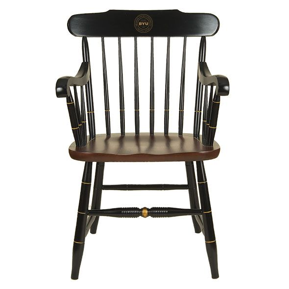 Brigham Young University Captain's Chair by Hitchcock