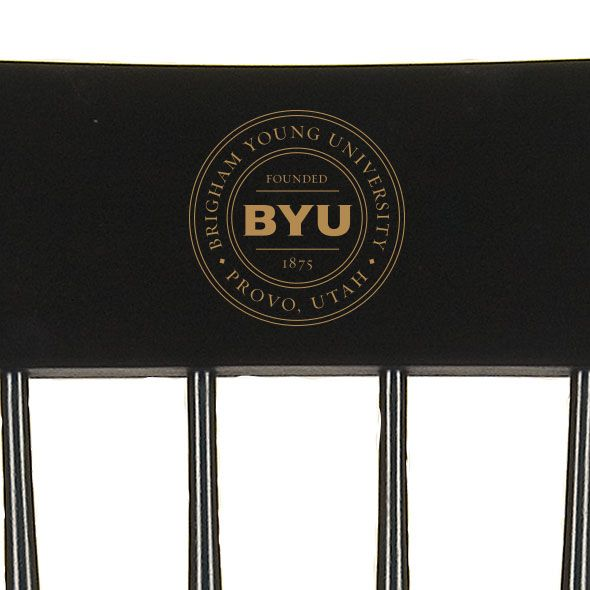 Brigham Young University Captain's Chair by Hitchcock - Image 2