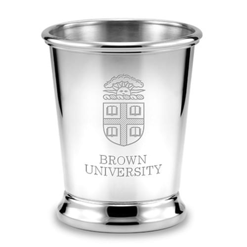 Brown Pewter Julep Cup