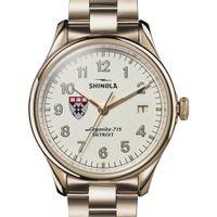 HBS Shinola Watch, The Vinton 38mm Ivory Dial
