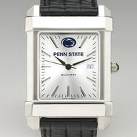 Penn State Men's Collegiate Watch with Leather Strap