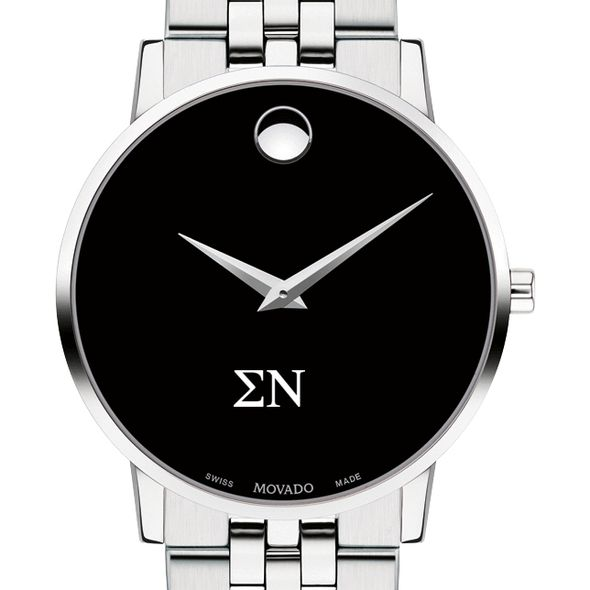 Sigma Nu Men's Movado Museum with Bracelet