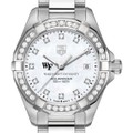 Wake Forest University W's TAG Heuer Steel Aquaracer with MOP Dia Dial & Bezel - Image 1