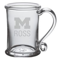 Michigan Ross Glass Tankard by Simon Pearce
