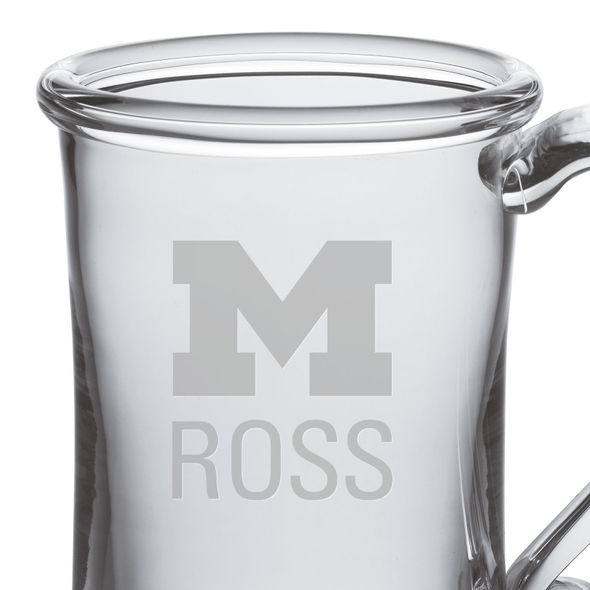 Michigan Ross Glass Tankard by Simon Pearce - Image 2