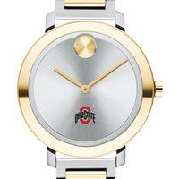 Ohio State University Women's Movado Two-Tone Bold 34