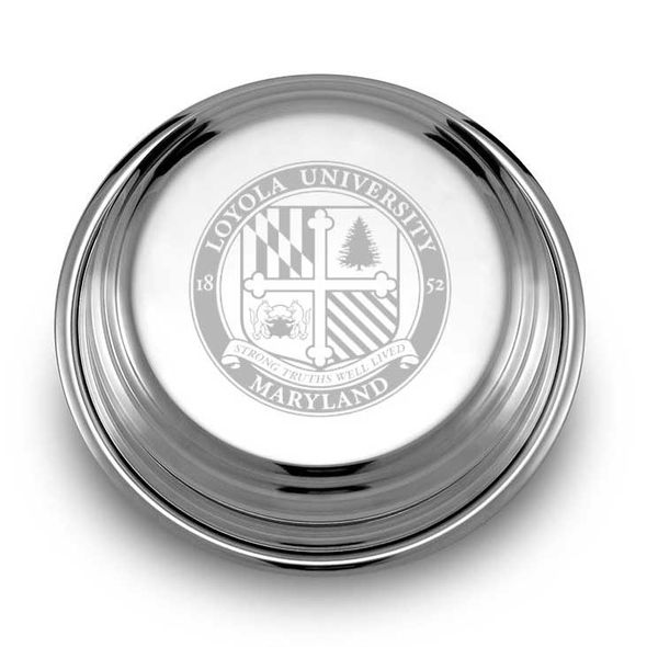 Loyola Pewter Paperweight - Image 1