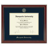 Marquette Diploma Frame, the Fidelitas