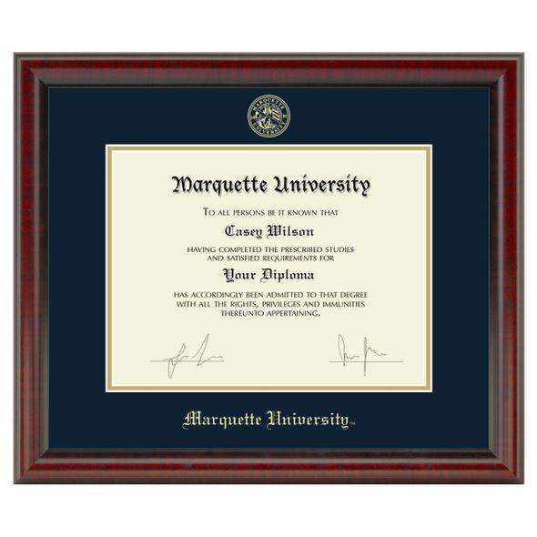 Marquette Diploma Frame, the Fidelitas - Image 1