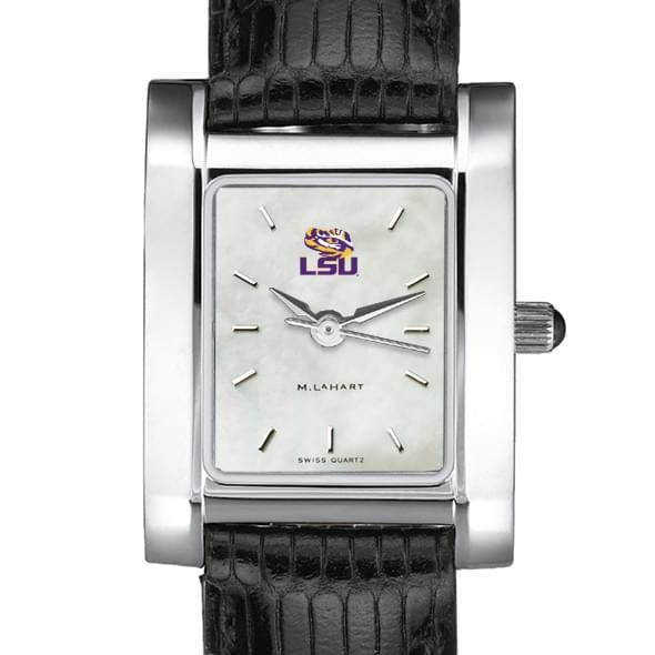 LSU Women's MOP Steel Quad with Leather Strap - Image 1