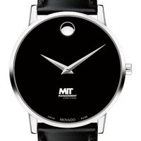MIT Sloan Men's Movado Museum with Leather Strap