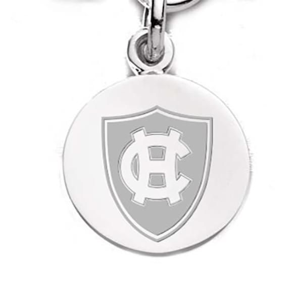 Holy Cross Sterling Silver Charm