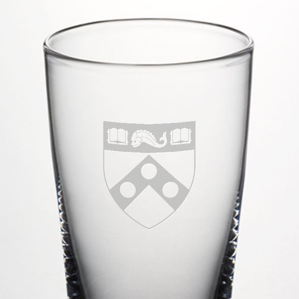 Penn Pint Glass by Simon Pearce - Image 2