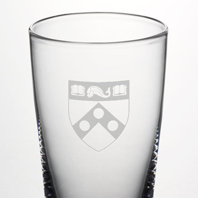 Penn Pint Glass by Simon Pearce - Image 2