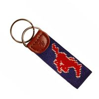SMU Cotton Key Fob