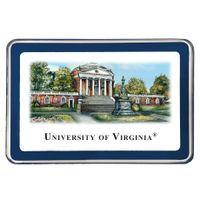 UVA Eglomise Paperweight