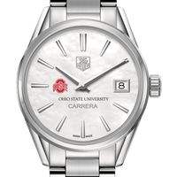 Ohio State Women's TAG Heuer Steel Carrera with MOP Dial