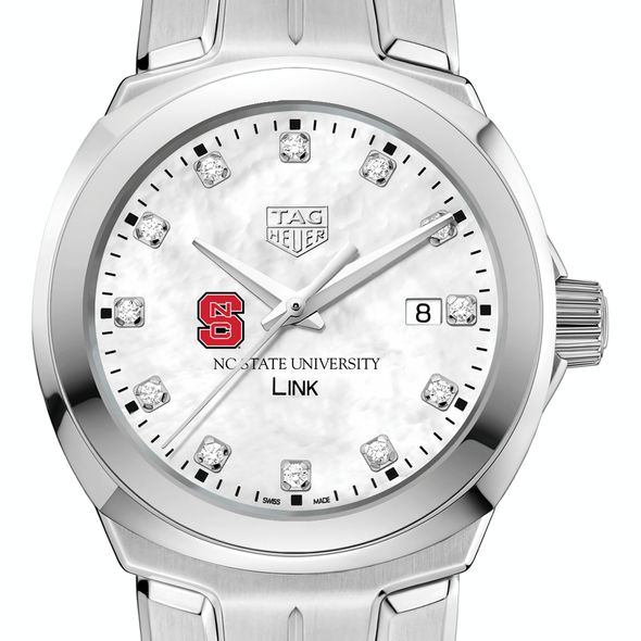 North Carolina State TAG Heuer Diamond Dial LINK for Women