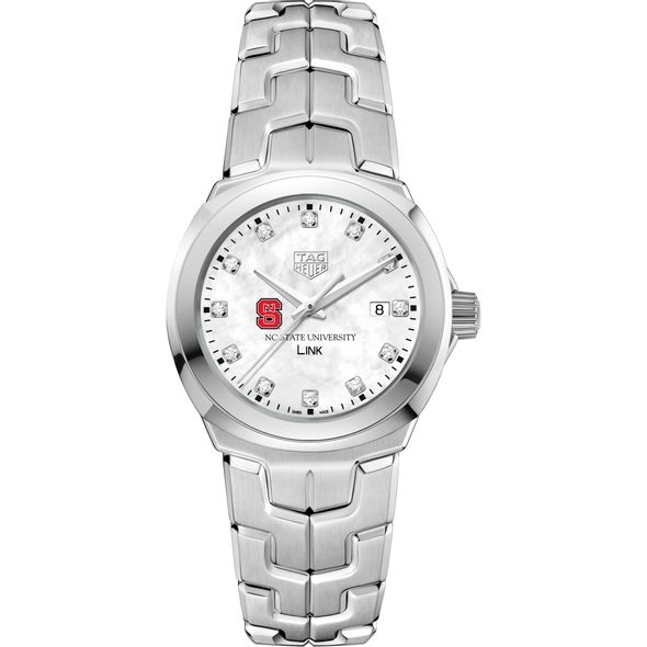 North Carolina State TAG Heuer Diamond Dial LINK for Women - Image 2