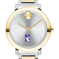 Northwestern University Women's Movado Two-Tone Bold 34