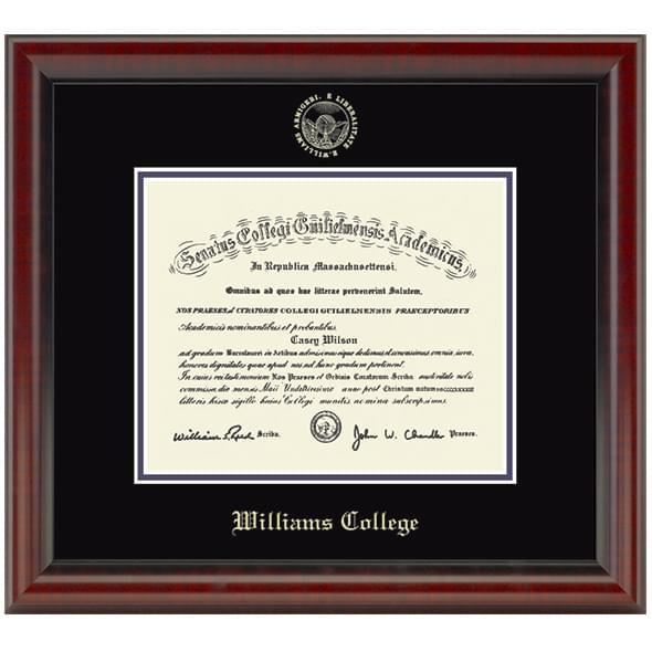 Official Williams College Diploma Frame, the Fidelitas - Graduation ...
