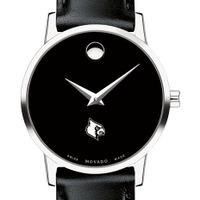University of Louisville Women's Movado Museum with Leather Strap