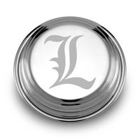University of Louisville Pewter Paperweight