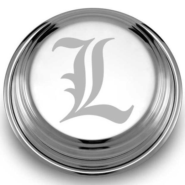 University of Louisville Pewter Paperweight - Image 2
