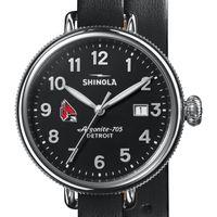Ball State Shinola Watch, The Birdy 38mm Black Dial