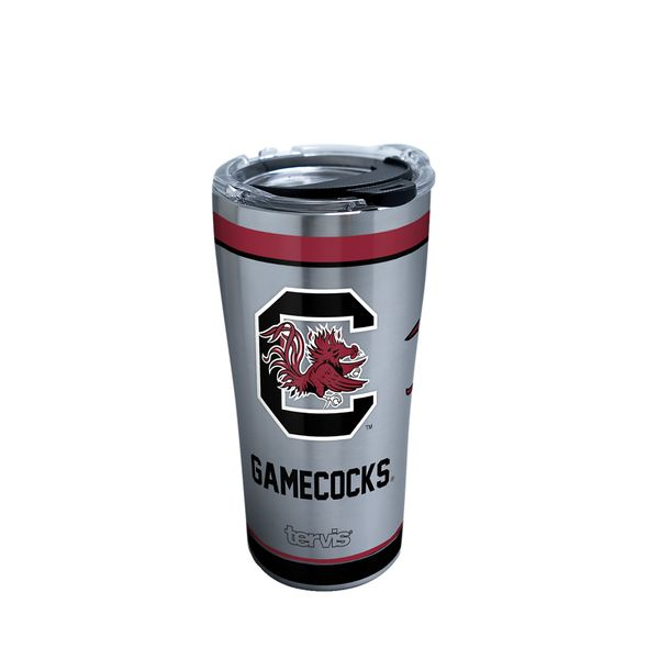 South Carolina 20 oz. Stainless Steel Tervis Tumblers with Hammer Lids - Set of 2