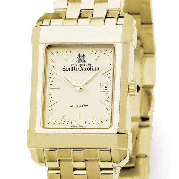 South Carolina Men's Gold Quad with Bracelet