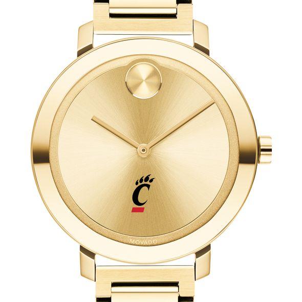 University of Cincinnati Women's Movado Gold Bold 34 - Image 1