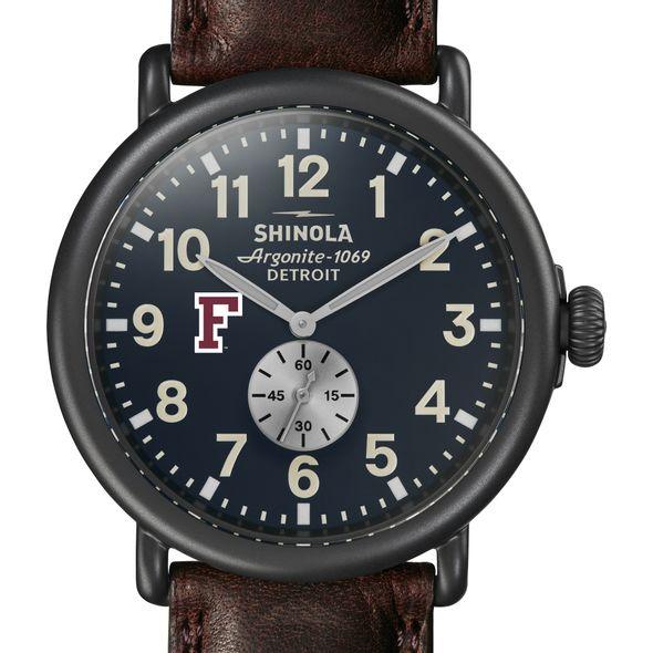 Fordham Shinola Watch, The Runwell 47mm Midnight Blue Dial