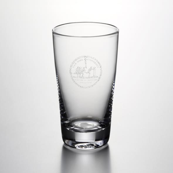 NYU Ascutney Pint Glass by Simon Pearce