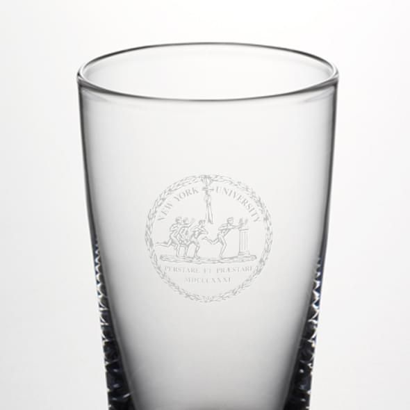 NYU Ascutney Pint Glass by Simon Pearce - Image 2