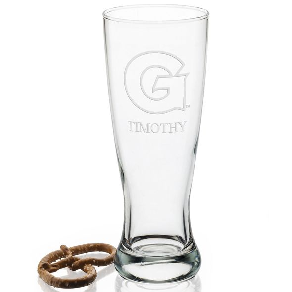 Georgetown Tall 20oz Pilsner Glasses - Set of 2 - Image 2