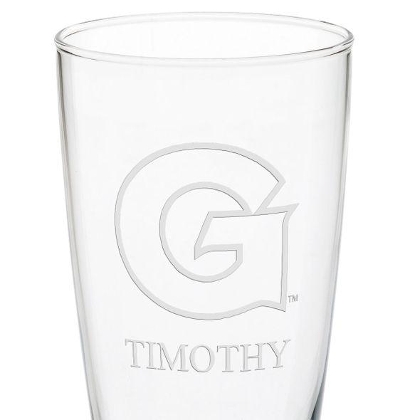 Georgetown Tall 20oz Pilsner Glasses - Set of 2 - Image 3