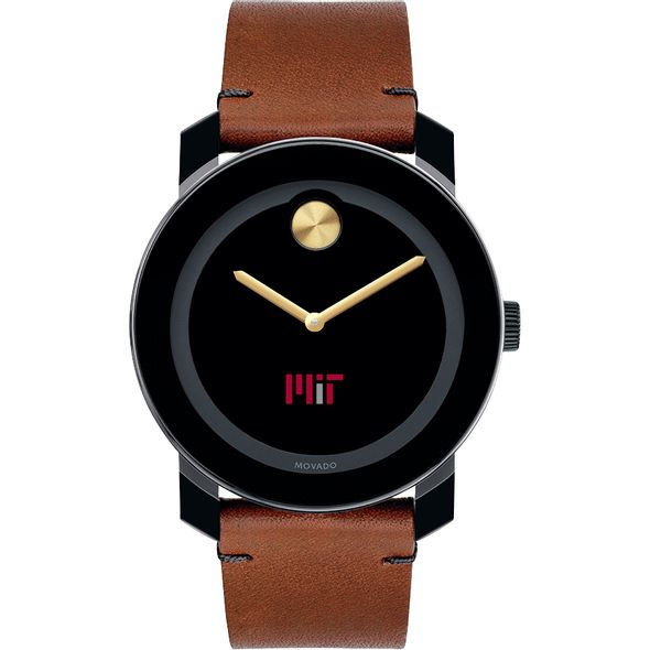 MIT Men's Movado BOLD with Brown Leather Strap - Image 2