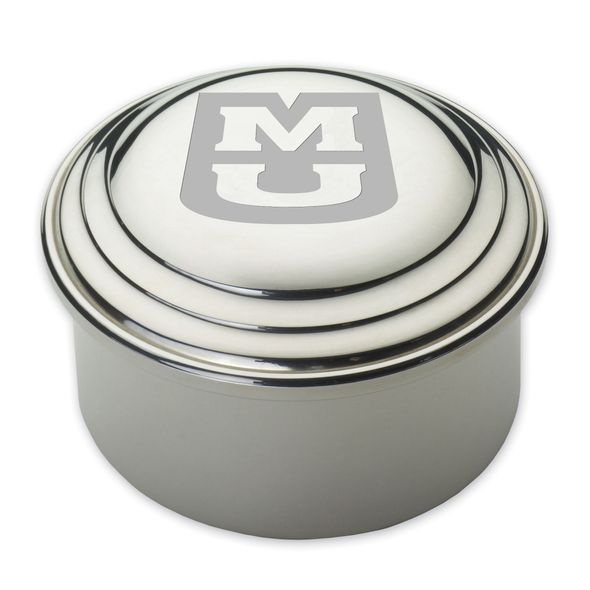 University of Missouri Pewter Keepsake Box